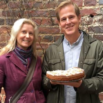 Matskribenten och -konsulten Kenneth Nars provar på att leva som frigan och räddar mat ur soporna