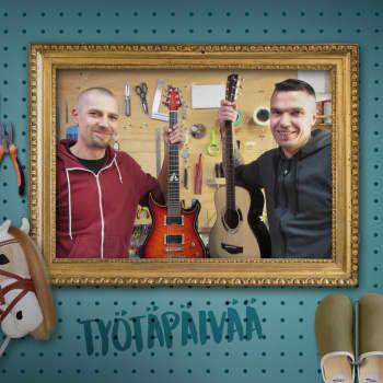 Kitaranrakentajaveljesten paras hetki on kun kitara herää eloon