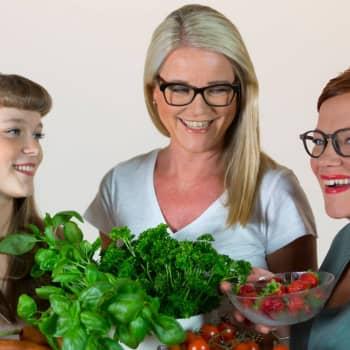 Herkkävatsainenkin voi syödä monipuolista ja herkullista ruokaa