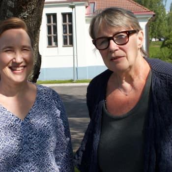 Paula möter Hilkka Olkinuora