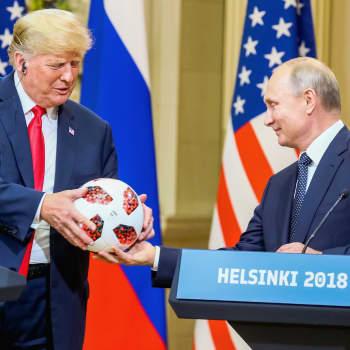 """""""Suuri huomio kiinnittyi tyylipisteisiin, ei suorituspisteisiin"""", sanoo sotahistorian dosentti Trumpin ja Putinin kohtaamisesta"""