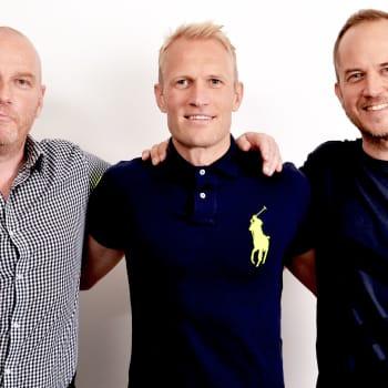 Vieraana jalkapalloilija Pekka Lagerblom
