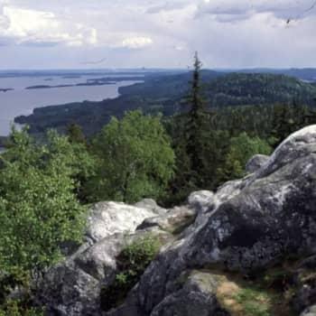 Lumoudu luonnosta kansallispuistossa