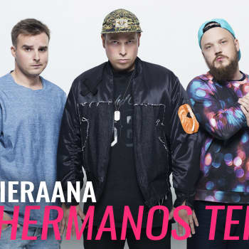 Vieraana Los Hermanos Teflon: Meidän suurin tavoite on se, että Maradona kuulee meidän biisin