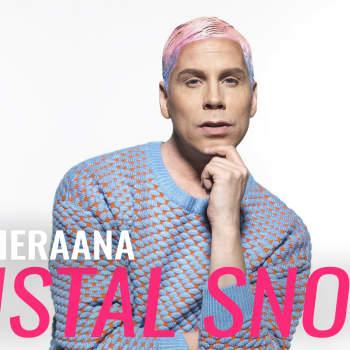Vieraana Cristal Snow: Tavoitteeni Kymppitonnissa on se, että vierailla on hauskaa
