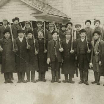Sisällissota 1918 - punaiset muistot: Aseet vain hälytystä varten (Väinö Heiskanen, Ruokojärvi)