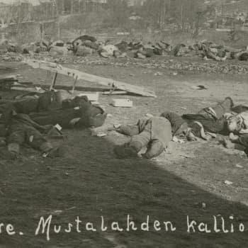 """Sisällissota 1918 - punaiset muistot: """"Mentiin kattomaan teurastuksen jälkiä"""""""