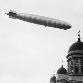 Kun Zeppelin kävi Suomessa