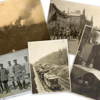 Radio Suomi Lappeenranta: Karjalan rintama - Kevään 1918 verinen näyttämö: Rintaman muodostuminen