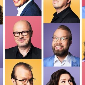 Kulttuuriykkönen: Kulttuuriykkösen kisastudio: Kari Enqvist, Annu Kemppainen ja Sami Kuusela
