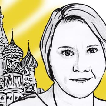 Marjo Näkki ja presidenttipyrkyrit Venäjällä
