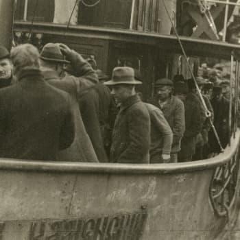 Sisällissota 1918 - punaiset muistot: Internationalea saksalaisten kanssa (Viljo Sohkanen, Tikkurila)