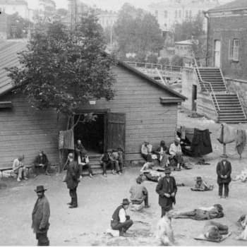 Sisällissota 1918 - punaiset muistot: Kasarmi n:o 7, Suomenlinna (Uuno Niemi)