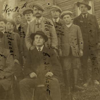 """Sisällissota 1918 - punaiset muistot: """"Tästä täytyy painua korpeen"""" (Mauri Estemaa ja Hugo Salonen, Hauho)"""