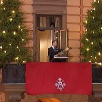 Julkinen sana: Vanhin ohjelmaformaatti - joulurauhan julistus