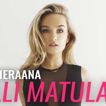 YleX Aamu: Vieraana Nelli Matula: Yritän vieläkin sisäistää kaiken, mitä tänä vuonna on tapahtunut