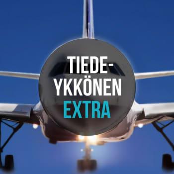 Lentäminen: Lentokone lentää matkalentokorkeudessa