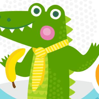 100 lastenlaulua: Satu Sopanen & Tuttiorkesteri: Krokotiili Herbertti