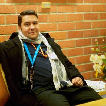 Romano mirits: Rikhard Blomerus uskoo yhteiskunnallisen vaikuttamisen mahdollisuuksiin