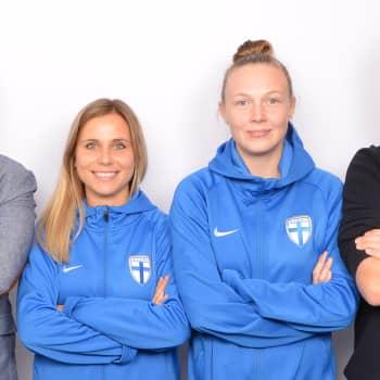 Lindgren & Sihvonen: Vieraina Suomen jalkapallomaajoukkueen Sanni Franssi ja Tuija Hyyrynen
