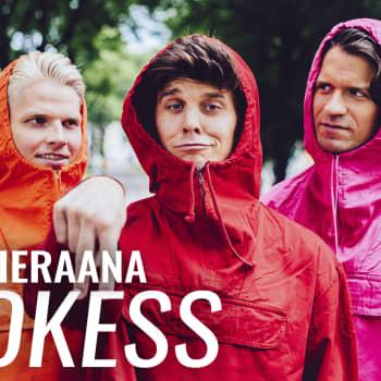 YleX Aamu: Vieraana Blokess: Halutaan viedä suomalaista huumoria maailmalle