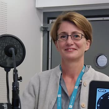 Internet-median tuottaja Pia Virtanen