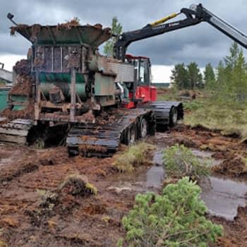 Metsäradio.: Sammalennostoa Kihniön suurilla suoaavoilla