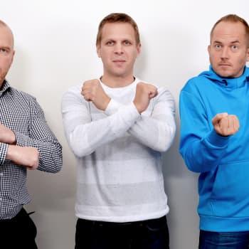 Vieraana SM-liigan erotuomarijohtaja Jyri Rönn