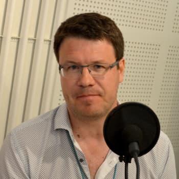 Yle Urheilun toimituspäällikkö Sasha Ikonen