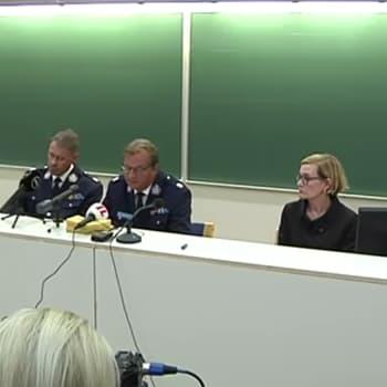 Turun puukotukset - poliisin tiedotustilaisuus klo 19