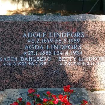 Kiveen hakatut: Painin olympiakultamitalisti Adolf Lindfors