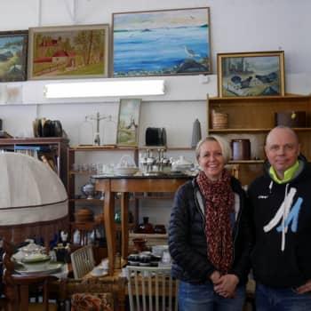 Jokapaikan Reetta: Vanhan tavaran kaupoilla Tammisaaressa