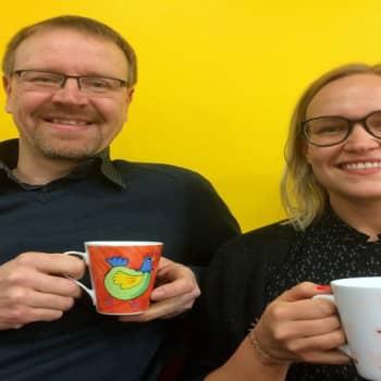 YLE Helsinki: Miten tavallisen toimistokahvin laatua voi parantaa kotikonstein?