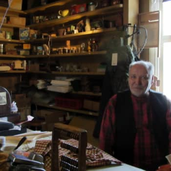 Suomen vanhimmalla kaupalla Taivalkoskella