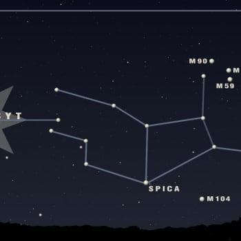 Kuukauden tähtitaivas: Huhtikuun tähtitaivaalla luikertelee käärme