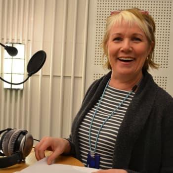 Audiotiimin toimittaja Anu Packalen