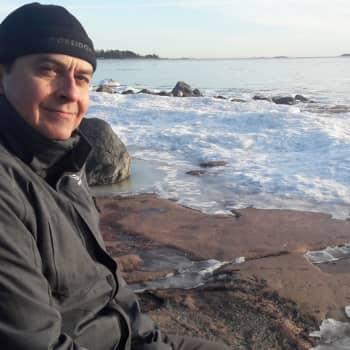 Minna Pyykön maailma: Talvista vedenalaiskuvausta