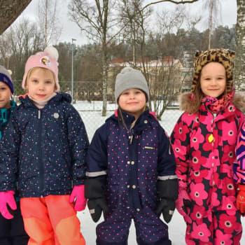 Metsäradio.: Humpulan päiväkodin lapset pönttöhommissa