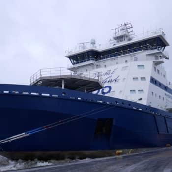 Jokapaikan Reetta: Uudella jäänmurtaja Polariksella Oulussa