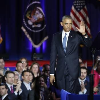 Maailmanpolitiikan arkipäivää: Jäähyväiset Obamalle