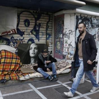 Maailmanpolitiikan arkipäivää: Kreikkalaisten ahdinko