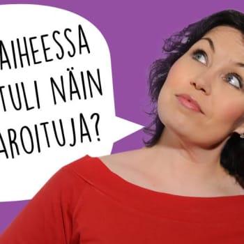Marian mielestä: Haarniska