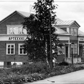 YLE Helsinki: Järvenpään ensimmäinen keskusta syntyi Terijoen puutaloista