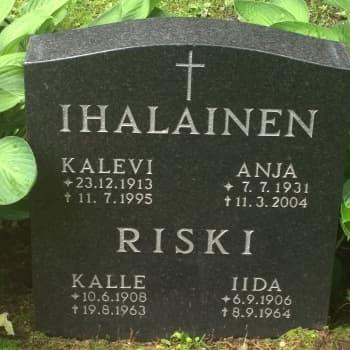 Kiveen hakatut: Kallari Ihalainen - elämän mittainen palloilija