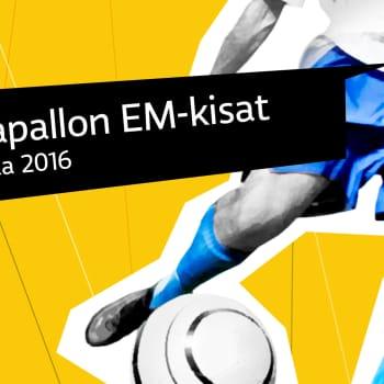Urheiluilta: Jalkapallon EURO 2016: FRA - ISL