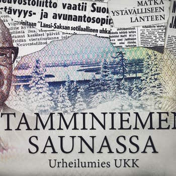 Tamminiemen saunassa: Urheilumies UKK