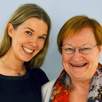 Tuija Pehkonen: Vieraana Tarja Halonen