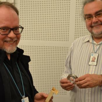 Kuuluttajan vieras: Ylen audiokokoelmien esimies Pekka Salosaari