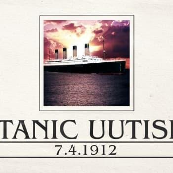 Titanicin uutisia: Titanicin uutisia 7.4.1912: Miksi mennä Lusitanialla jos pääsee Titanicille?