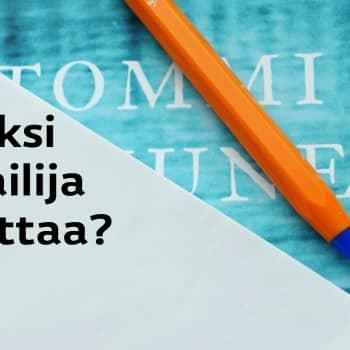 Radio Suomesta poimittuja: Olga Ketosen vieraana kirjailija Tommi Kinnunen
